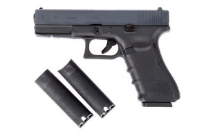 WE G17 Gas Blow Back Pistol Gen 4 - Black